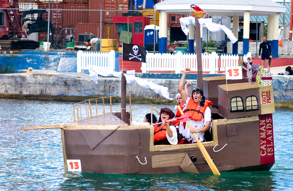 A Cardboard Boat